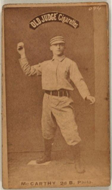 Tommy McCarthy Baseball Card