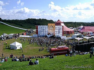 Tomorrowland 2005 Tomorrowland palco principal 2005.jpg