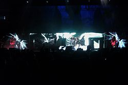 Tool performing in Houston at the Toyota Center June 2010.jpg