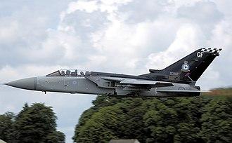 Panavia Tornado ADV - RAF 43 Sqn (ZE887) Tornado F3 takes off at Kemble Air Day 2008