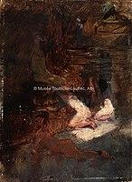 Toulouse-Lautrec - AU HAREM, 1882, MTL.91.jpg