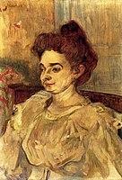 Toulouse-Lautrec - Mademoiselle Beatrice Tapie de Celeyran, 1897.jpg