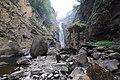 Tourists visiting the Xiaowulai Waterfall.jpg
