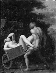 Paris Abducting Helena on His Ship by Night