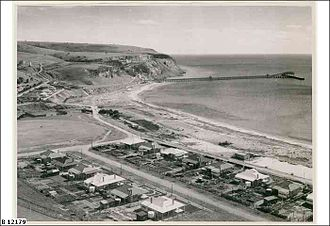 Rapid Bay, South Australia - Image: Township, Rapid Bay, 1950 B12179