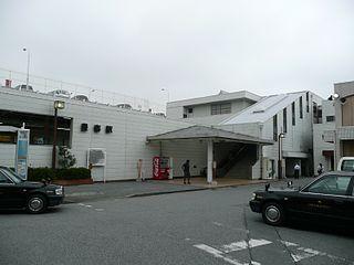 Toyoharu Station Railway station in Kasukabe, Saitama Prefecture, Japan