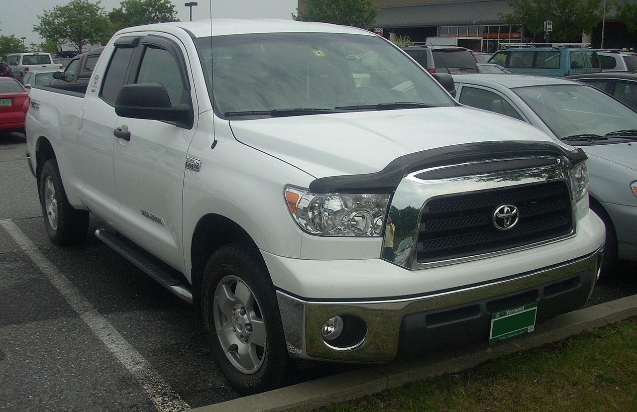 Toyota Tundra Double Cab Bed Size