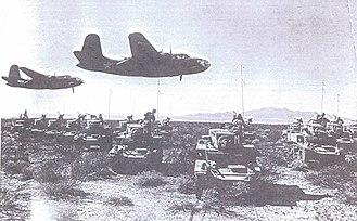 Desert Training Center - Training at Camp Iron Mountain, 1942