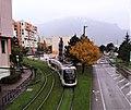 Tramway vers l'arrêt Les Granges.jpg