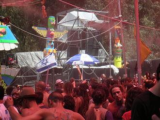 Doof - Image: Trance festival in Israel