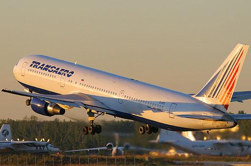 Transaero Boeing 767-300ER