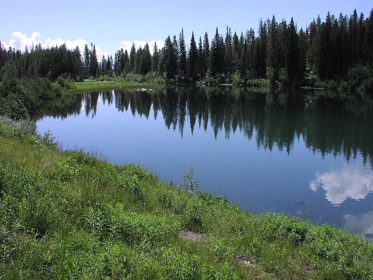 Can I Edit A Pdf >> Trapper Lake (Teton County, Wyoming) - Wikipedia