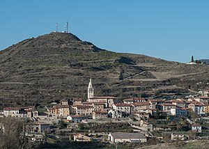 Condado de Treviño - View of Treviño, the capital of the municipality.