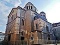Trieste Tempio serbo-ortodosse della Santissima Trinità e di San Spiridone Außen Lato Sud Ovest.jpg