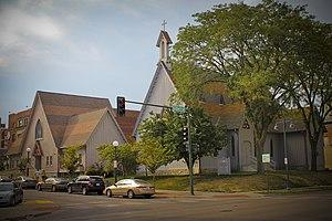 Trinity Episcopal Church (Iowa City, Iowa) - Image: Trinity Episcopal Church 1