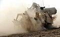 Trojan AVRE Tank Cuts Through the Afghanistan Desert MOD 45152047.jpg
