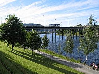 Elgeseter Bridge bridge in Norway