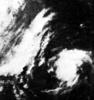 1968 Pacific hurricane season - Image: Tropical Storm Diana (1968)