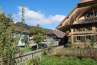 Trubschachen - Trubschachen village