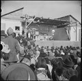 Tule Lake Relocation Center, Newell, California. A scene at the Harvest Festival held at this reloc . . . - NARA - 536340.tif