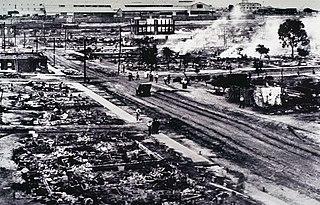 Tulsa race massacre Mass violence in Tulsa, Oklahoma, US in 1921