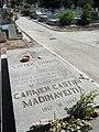 Tumba de Xavier Zubiri y Carmen Castro Madinaveitia en el cementerio civil de Madrid.jpg