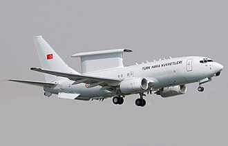 Boeing 737 AEW&C - Image: Turkish Air Force Boeing 737 700 (modified)