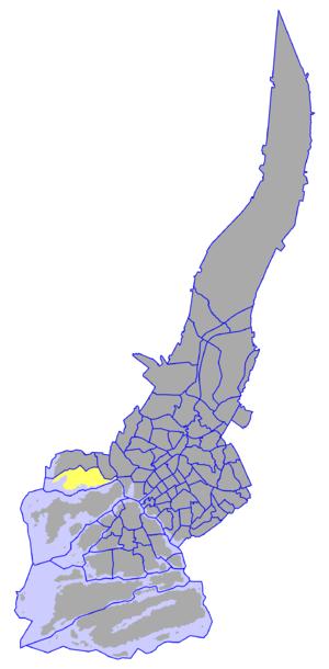 Pansio - Pansio on a map of Turku.