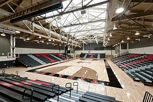 Tustin High School - Tustin High Sports Pavilion - interior