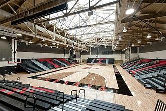 Tustin High School - Tustin High Sports Pavilion - interior