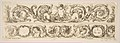 Two Acanthus Friezes- Cupid Subduing Two Lions; Heads of Four Seasons, Plate 14 from- 'Decorative friezes and foliage' (Ornamenti di fregi e fogliami) MET DP817950.jpg