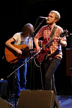 Two Gallants (band) - Two Gallants performing in Paris, 2007