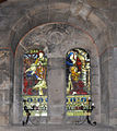 Two stained glass windows - St Peter's Church - Parwich - geograph.org.uk - 1454916.jpg