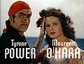 Tyrone Power Maureen O'Hara Black Swan 9.jpg
