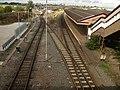 Tyseley Station - Tyseley Locomotive Works and Birmingham Skyline (6155329177).jpg