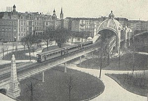 Nollendorfplatz (Berlin U-Bahn) - Station Nollendorfplatz c. 1903