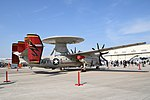 U.S.NAVY E-2D Advanced Hawkeye(168989) of VAW-125 right rear view at MCAS Iwakuni May 5, 2019 02.jpg