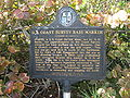 U.S. Coast Survey Base Marker historical marker 02.jpg