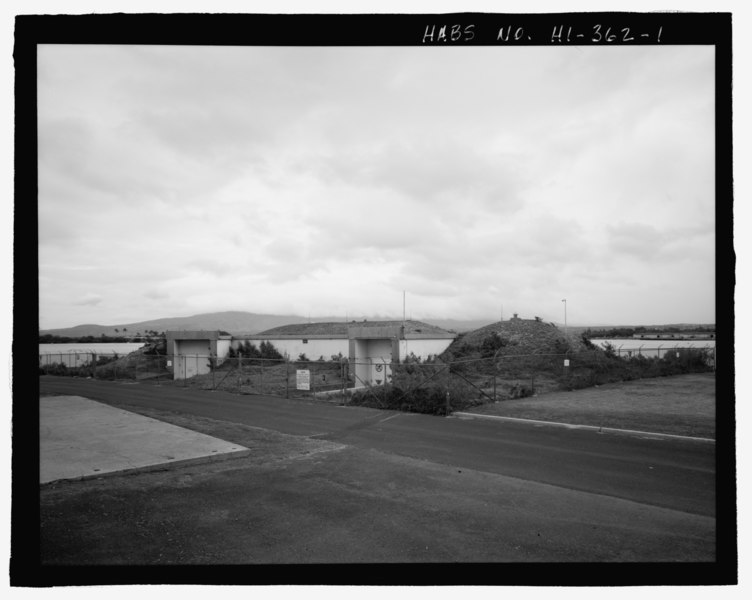 File:U.S. Naval Base, Pearl Harbor, Battery Boyd, Between San Jacinto Street and Ranger Loop, Pearl City, Honolulu County, HI HABS HI-362-1.tif