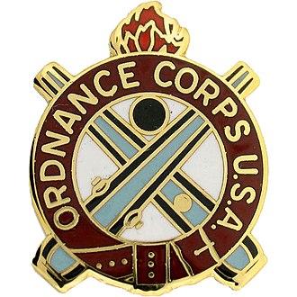 Ordnance Corps (United States Army) - U.S. Ordnance Corps Insignia badge
