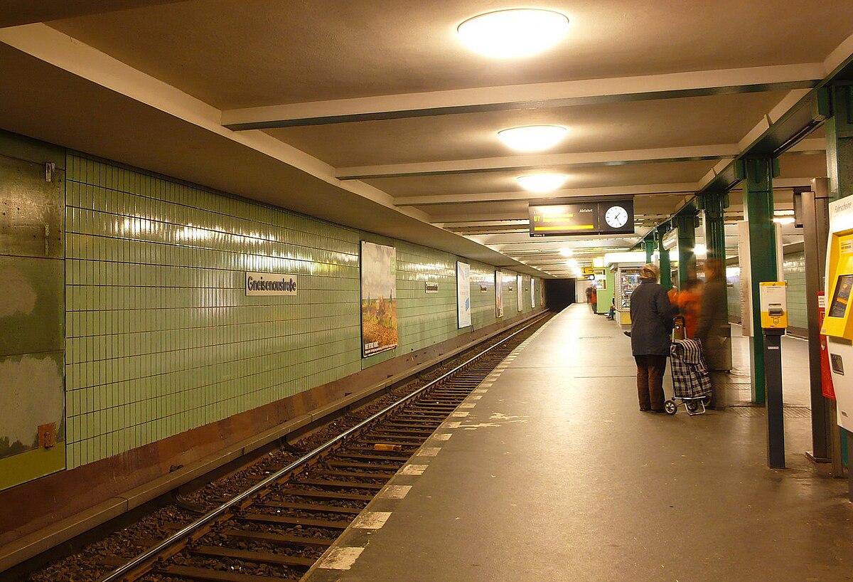 Gneisenaustraße (Berlin UBahn)  Wikipedia