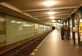Image illustrative de l'article Gneisenaustraße (métro de Berlin)