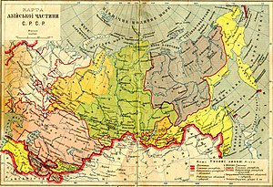 Buryats - Buryat-Mongol ASSR in 1929.