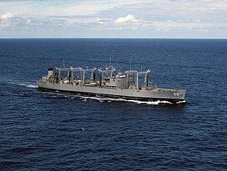USS <i>Caloosahatchee</i> (AO-98) Cimarron-class oiler