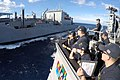 USS Carney conducts a replenishment-at-sea. (30432514056).jpg