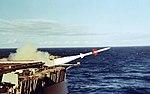 USS Enterprise (CVN-65) Sea Sparrow launch 1976 428-GX-KN-25563.jpg