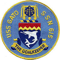 SSN-615 ship patch