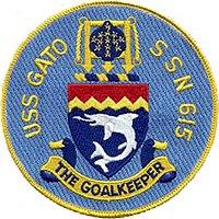 USS Gato (SSN-615) Patch