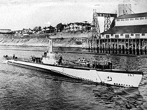 USS Icefish (SS-367) - Icefish (SS-367) Portland, Oregon September 1945.