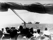 USS Langley (AV-3) is torpedoed south of Java on 27 February 1942